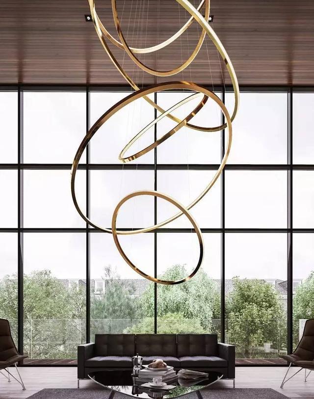 装饰创意十足的好吊灯,提升合肥家的档次