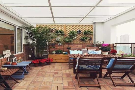 合肥装饰公司10款阳台露台花园交换空间设计