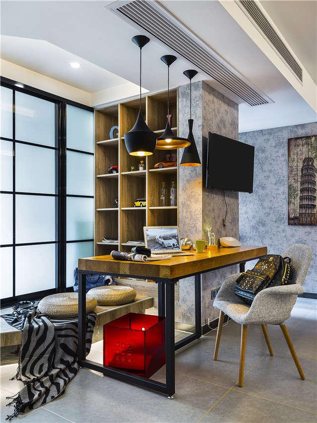 如何玩转一居室工业风 合肥装修公司小户型装修案例